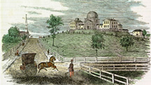 Observatory Hill in 1855