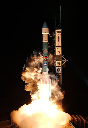 Spitzer launch 9/25/03