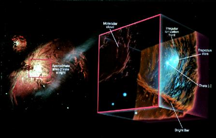 how big is orion nebula - photo #30