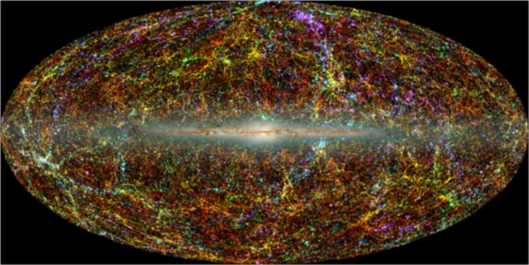 трехмерная модель Вселенной