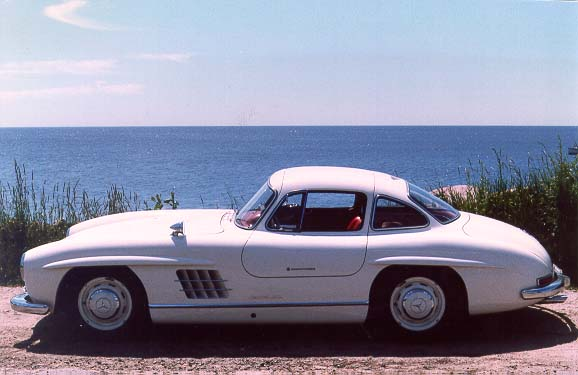 1955 mercedes benz 300sl gullwing coupe